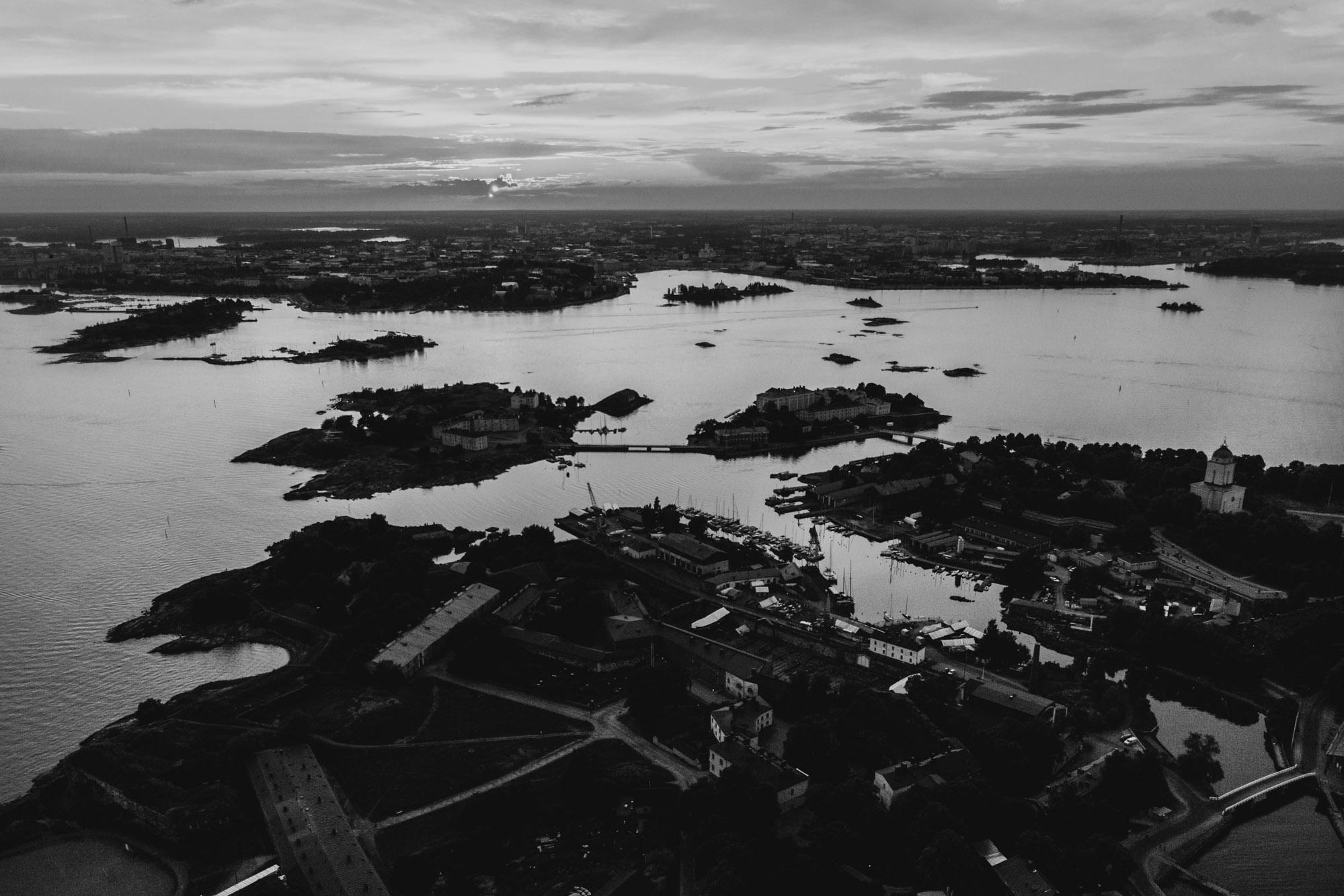 Suomenlinna ilmasta